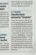 Articolo del 1 marzo 2014, Cittadino di Monza e Brianza
